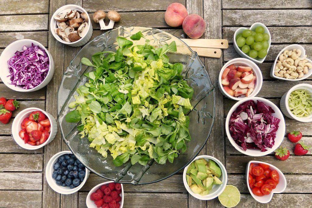 Ovoce a zelenina je vhodná při onemocnění celakii